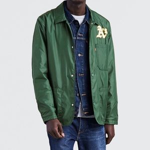 Levi's Oakland Athletics A's Windbreaker Jacket